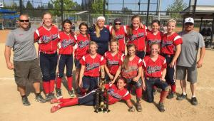 2015 Crash Mothers Day Tournament - 14U Gold Champions